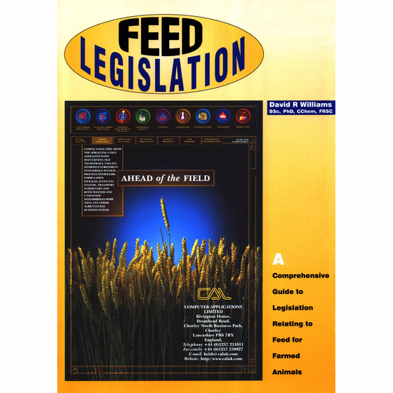 Feed Legislation (front cover)