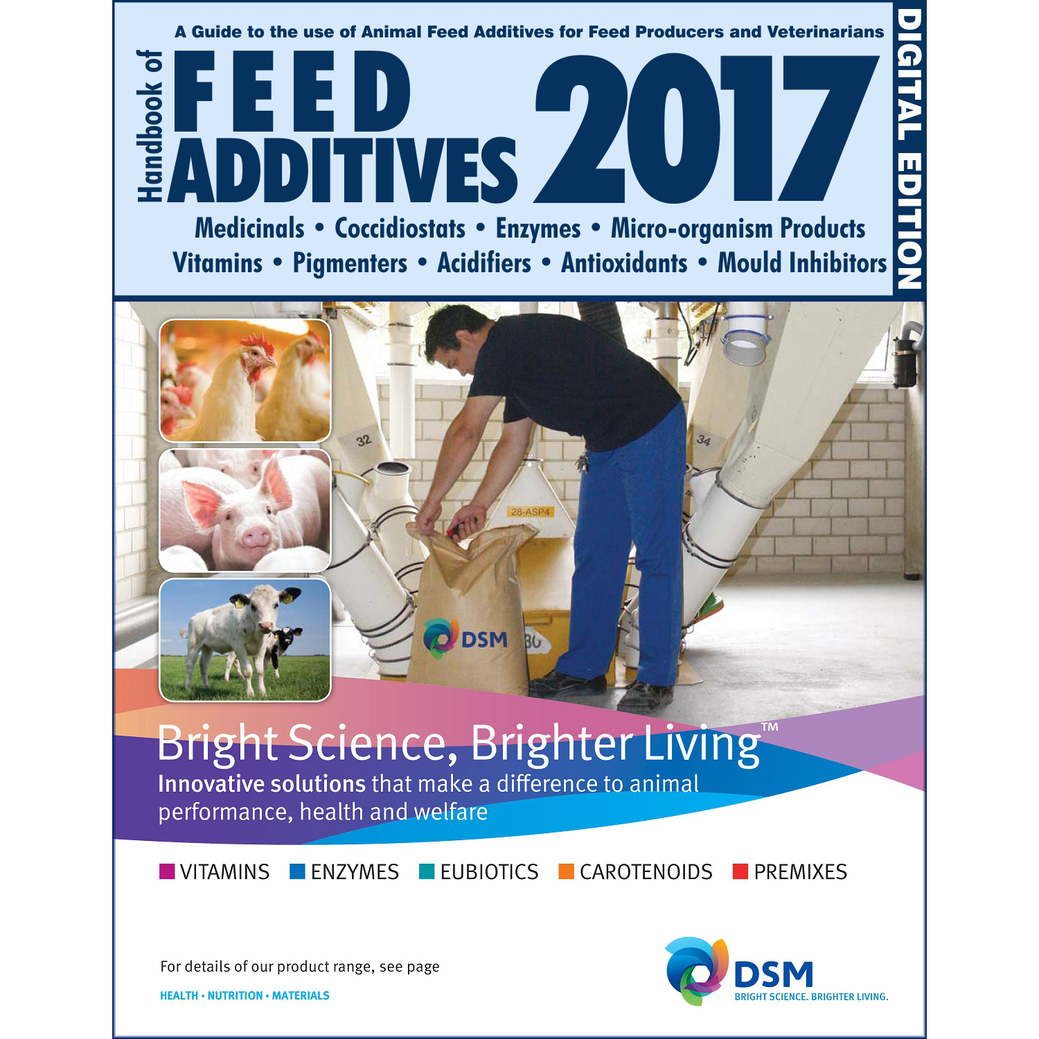 Handbook of Feed Additives 2017 [Digital Edition] (cover)